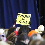 """トランプの英語 """"Trump digs coal"""""""
